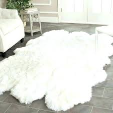 decoration white hide rug for faux animal skin plan from rugs faux animal hide rugs