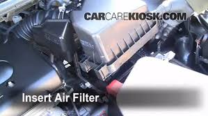 air filter how to 2008 2015 scion xb 2010 scion xb 2 4l 4 cyl Scion Fuel Filter Replacement replace filter insert the filter and put everything back in place