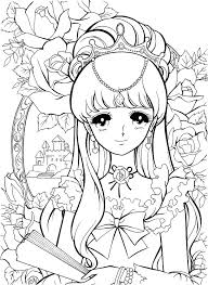 Manga Colouring Pages Printable Coloring Pages Book Awesome Anime