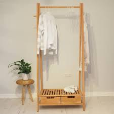 wooden clothes rack stockholm