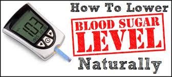 Image result for lower blood sugar