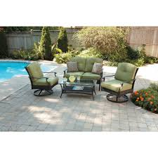 better homes and gardens providence 4 piece patio conversation set com