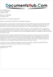 Free Sample Request Letter For Employment Certificate Cover Letter