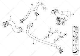 Cooling system water hoses for bmw x3 e83 lci x3 30si sav rus 155545 50028 bmw x3 parts diagram within bmw x3 parts diagram within