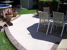 plain concrete patio. Interesting Concrete Stamped Concrete Patio 12 To Plain