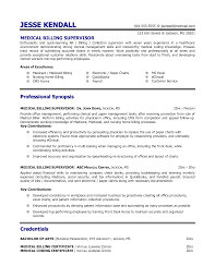 Ideas Of Billing And Coding Resume Samples Fantastic Medical
