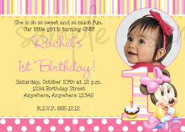 first birthday invitation templates lovely baby st birthday invitation card template busstopopera of first birthday invitation templates best of baby 1st