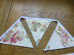 LAURA ASHLEY LLOYD DUCK EGG BLUE HANDMADE BUNTING 10 DOUBLE SIDED FLAGS  Banners, Bunting & Garlands Greeting Cards & Party Supply