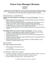 Resume Sample For Nurses – Resume Pro