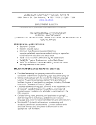 Sample Resume English Teacher Free Resume Example And Writing