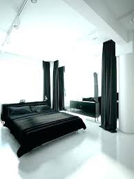 black and white bedroom curtains gray red blackout