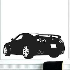 car wall decals race sports car wall decals vinyl removable home decor k living room one car wall decals