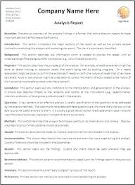 Short Business Report Sample Business Report Format Template Formal Luxury Short Writing Doc