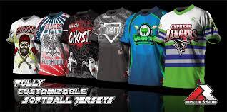 Mens Softball Jersey Designs Big League Shirts Custom Sports Jerseys Full Dye Sublimation
