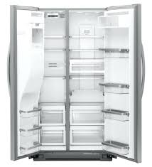 kitchenaid 24 cu ft counter depth side by side refrigerator cu ft counter depth side by