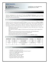 Resume Examples Java Developer