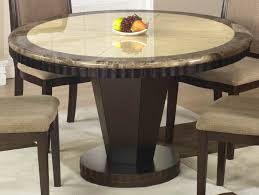 Antique Round Kitchen Table Furniture Large Dining Table Solid Wood Dark Antique Bleached
