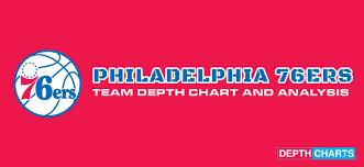 2019 Philadelphia Sixers Depth Chart Live Updates