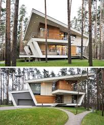 16 examples of modern houses with a sloped roof sloped roofs on this modern house
