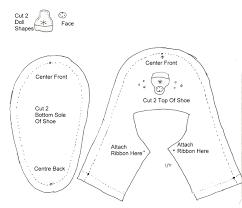 Free Baby Shoe Pattern Best Decorating Design