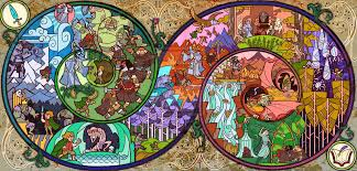 add media report rss stained glass the hobbit artwork view original