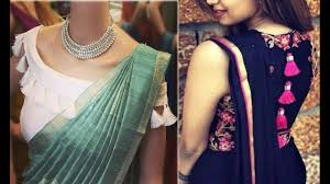 Blouse Design For Youngsters Latest And Trendy Blouse Designs For Girls Blouse Designs For Farewell Blouse For Fancy Sarees