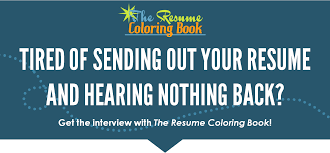 The Resume Coloring Book Online Course Lea Mcleod Job