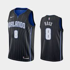 Jersey Terrence Statement Black Ross Magic Orlando