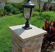 concrete column caps column cap with light fixture wall caps concrete column caps florida