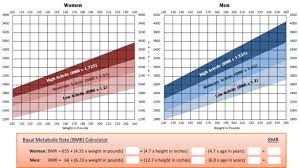 Basal Metabolic Rate Bmr Chart Manage Your Energy Braintracts