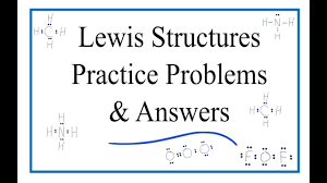 Lewis Structure Worksheets With Answers Lewis Dot Structure Practice Problems With Answers And Explanation