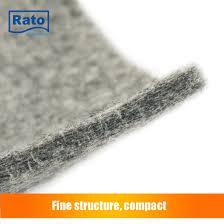 new design non slip dustproof carpet underlay felt rug pad
