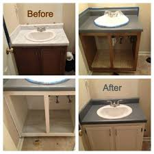 painted bathroom countertops painting bathroom counters can refinish painted bathroom countertops