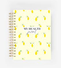 My Health Journal - Lemons – My Health Journals