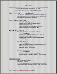 Objective For Housekeeping Resumes Housekeeping Resume Objective Awesome Housekeeping Summary For