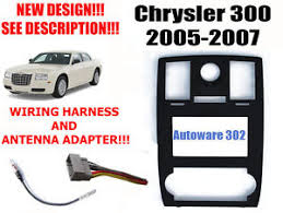 2007 chrysler 300 wiring harness 2007 image wiring chrysler 300 double din car stereo radio dash kit w wire harness on 2007 chrysler 300
