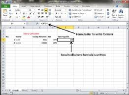 creating formulas in excel creating formulas in excel 2010