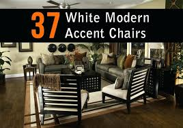 modern white accent chair christopher knight home round bonded leather