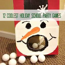 school christmas party games. for next year. when i have it all together.