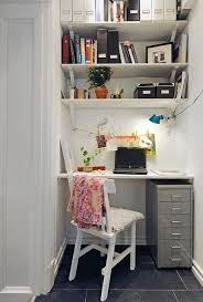 office for small spaces. Blackboard Wall In A Monochrome Home Office. More Creative Work Spaces And Share Your Own On #EtsyDeskie | Decor Pinterest Wall, Office For Small