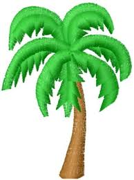 palm tree design embroidery area rugs