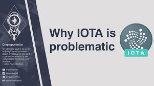 Iota Design Iota Is Problematic Miota Broken Internet Of Things Steemit