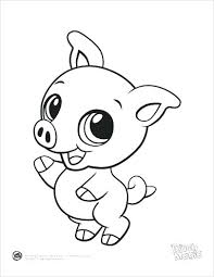 Cute Baby Animal Coloring Pages Coloring Free Cute Baby Animal