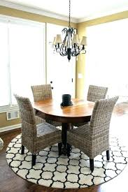 dining table rug round rugs under tables that can totally transform any kitchen for size chart dining table rug