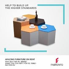 Fabrento Rent quality Home Furniture online