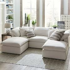 small lounge furniture. The Double Chaises On This Envelop Sectional Means Twice Comfort. Removable Back Cushions Make For Easy Clean Up. Small Lounge Furniture
