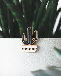 Saguaro Cactus Enamel Pin