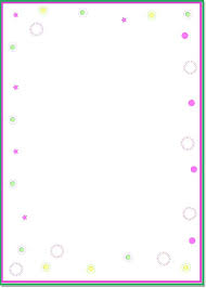 Paper Borders Templates Paper Border Templates Free Printable Baby Borders For