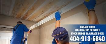 installation garage door stockbridge ga