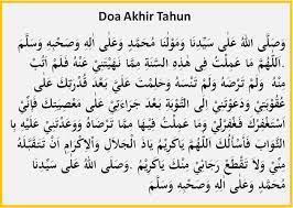 Bacaan Doa Akhir Tahun Dan Doa Awal Tahun Islam Lengkap
